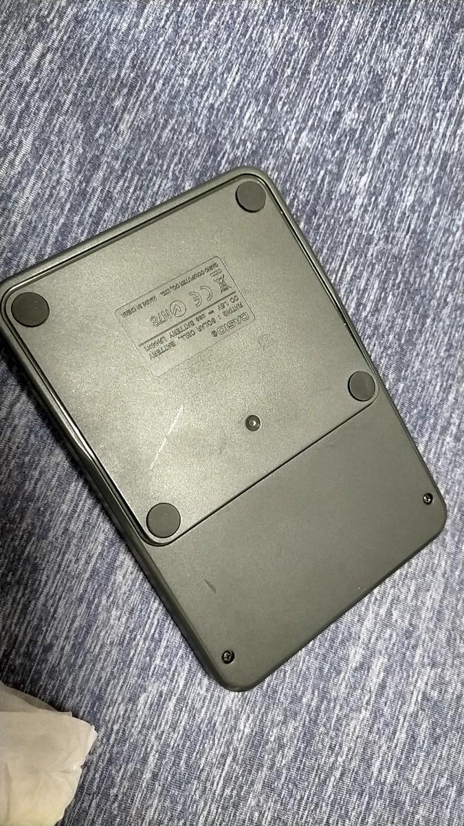 カシオ カラフル電卓 ミニジャストタイプ 10桁 MW-C12A