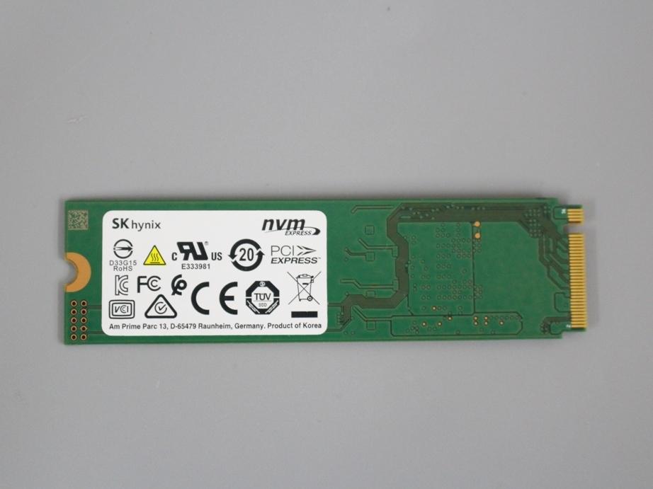 ●送料無料 累計使用時間250H hynix HFM256GDJTNG■M.2 NVMe 256GB SSD 2280動作確認済み