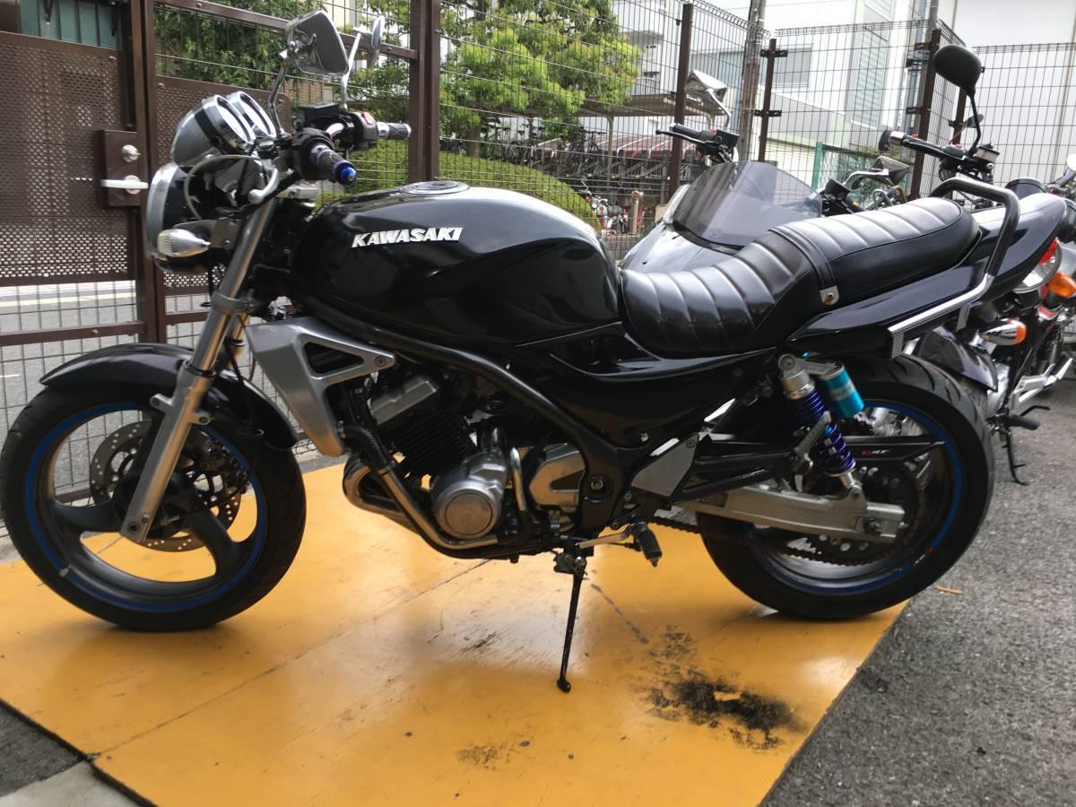 「大阪市 カワサキ バリオス2 バリオス カスタム ZR250B- !!!!」の画像1