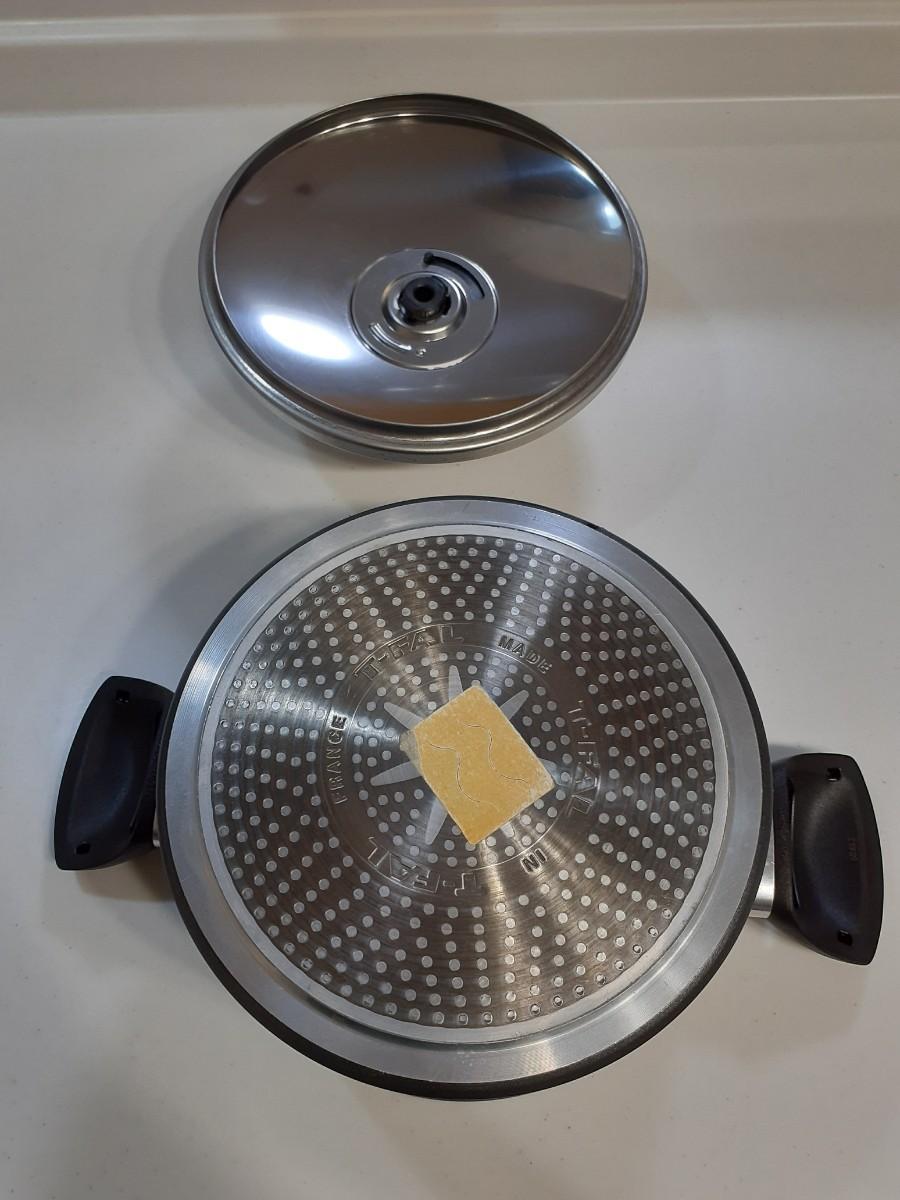 T-fal  両手鍋 直径20cm IH・ガス火対応