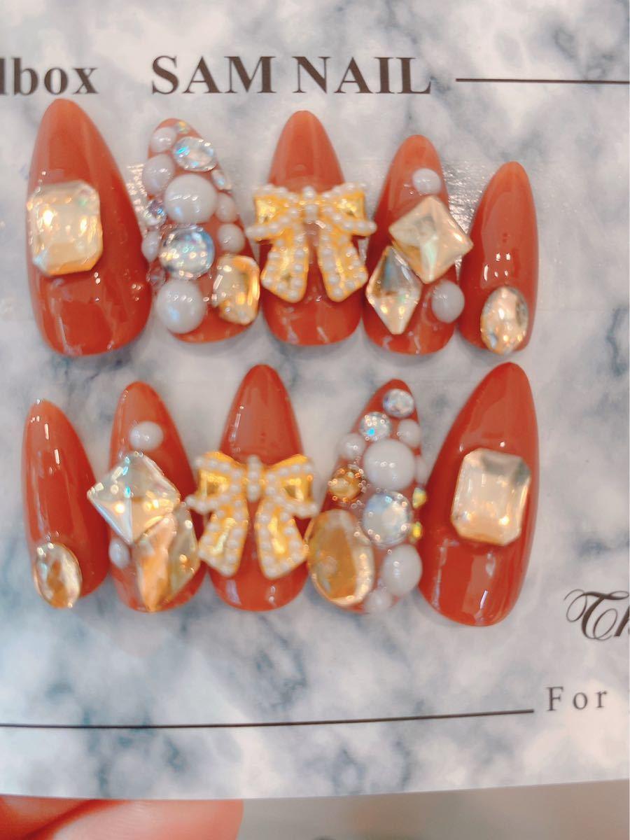 ネイルチップ 付け爪 ネイルアート ジェルネイル かわいいネイル N310