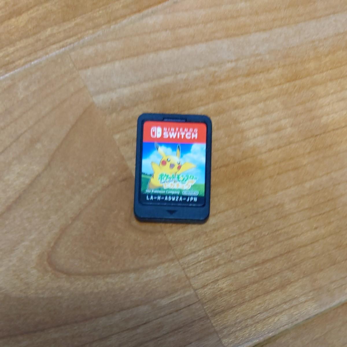 Nintendo Switch ポケットモンスターLet's go ピカチュウ