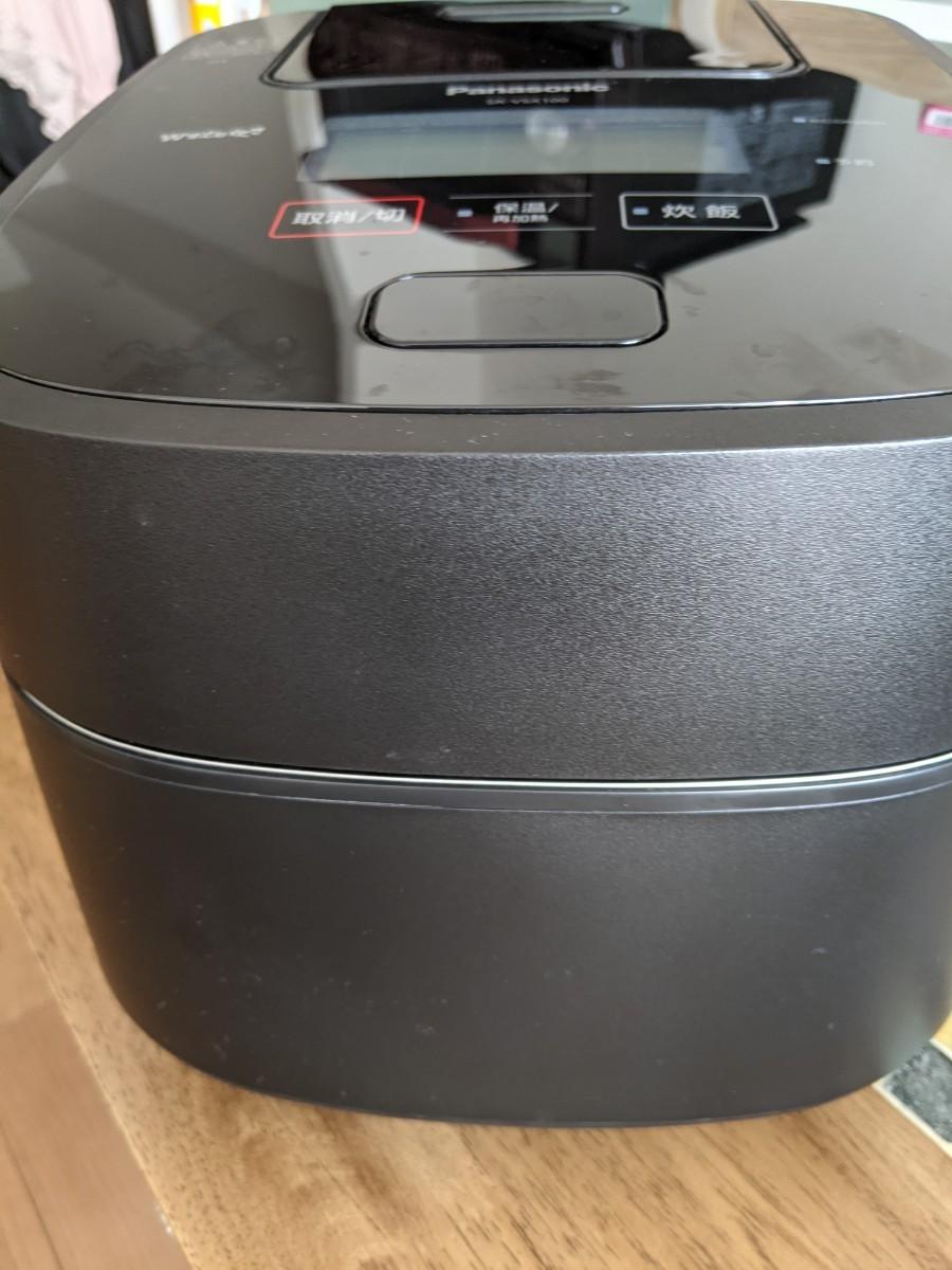 パナソニック 炊飯器 Wおどり炊き SR-VSX100-K