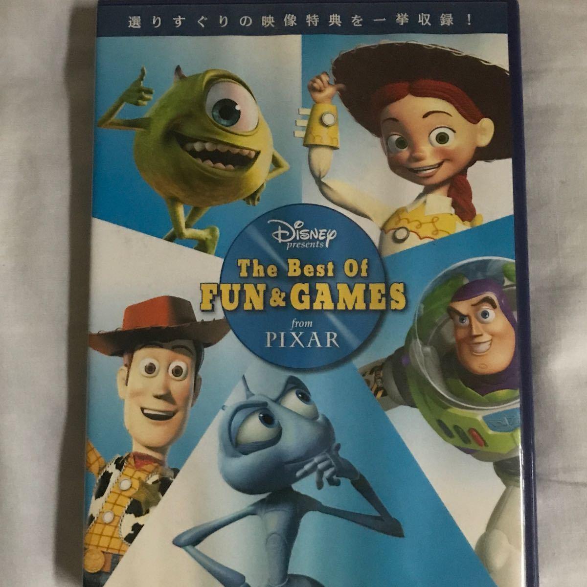 DVD ディズニー Disney トイストーリー THE BEST games PIXAR