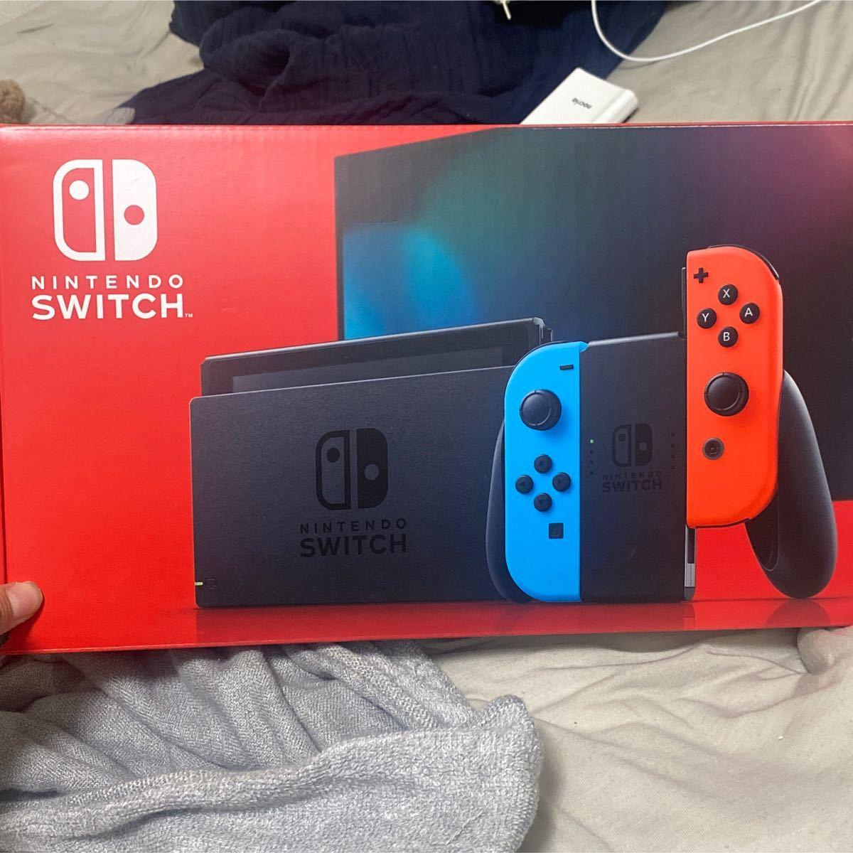 ネオンブルー ネオンレッド Nintendo Switch Switch本体 Nintendo Joy-Con (L)
