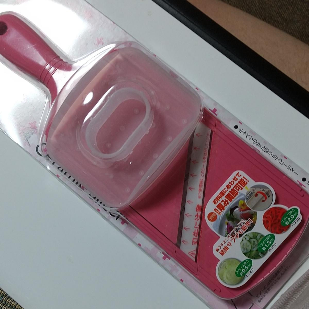 京セラ [4960664716548] セラミックスライサー 可変 【ピンク 】