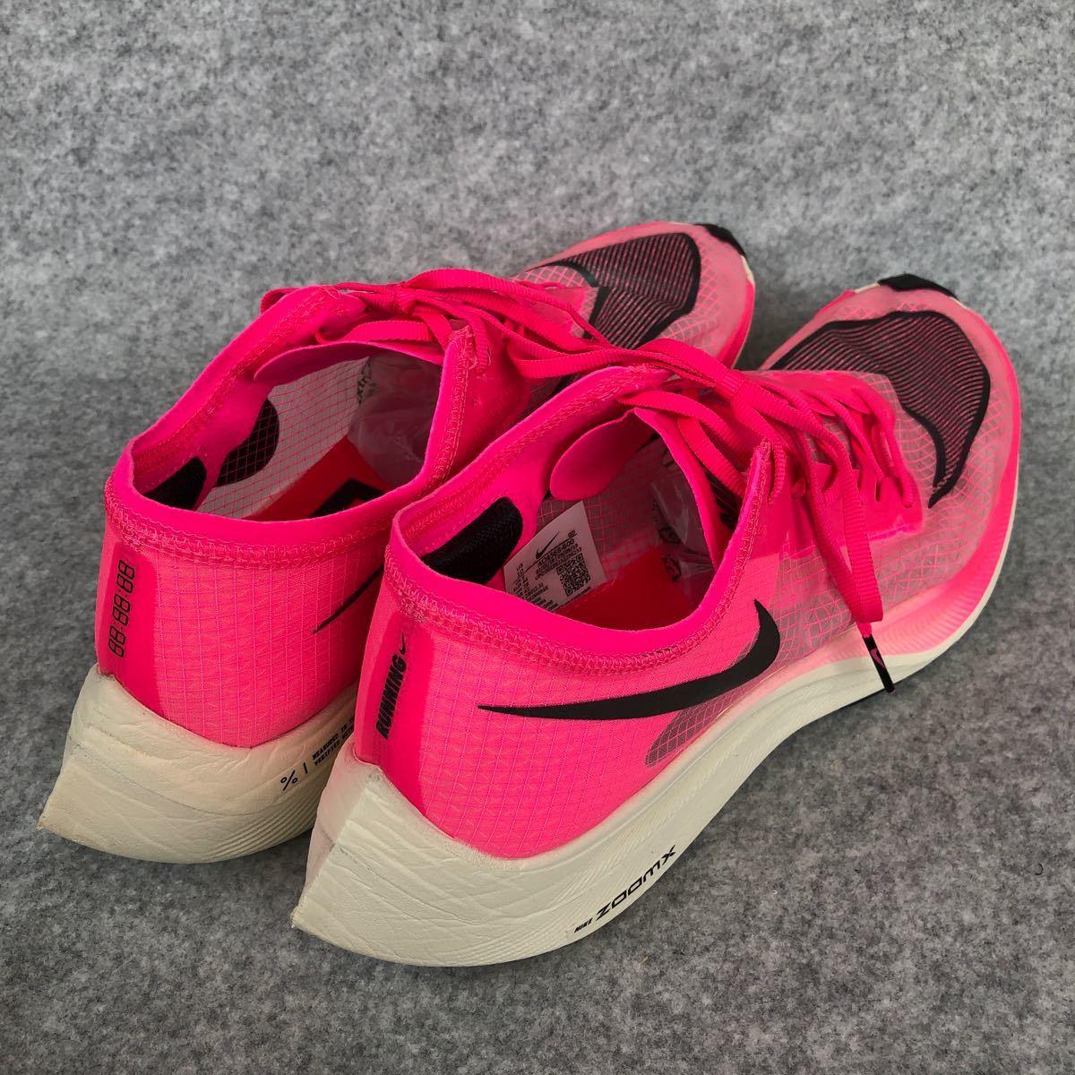 ナイキ ズームX ヴェイパーフライ ネクスト% 28.0cm ピンク 美品 ズームフライ AO4568-600