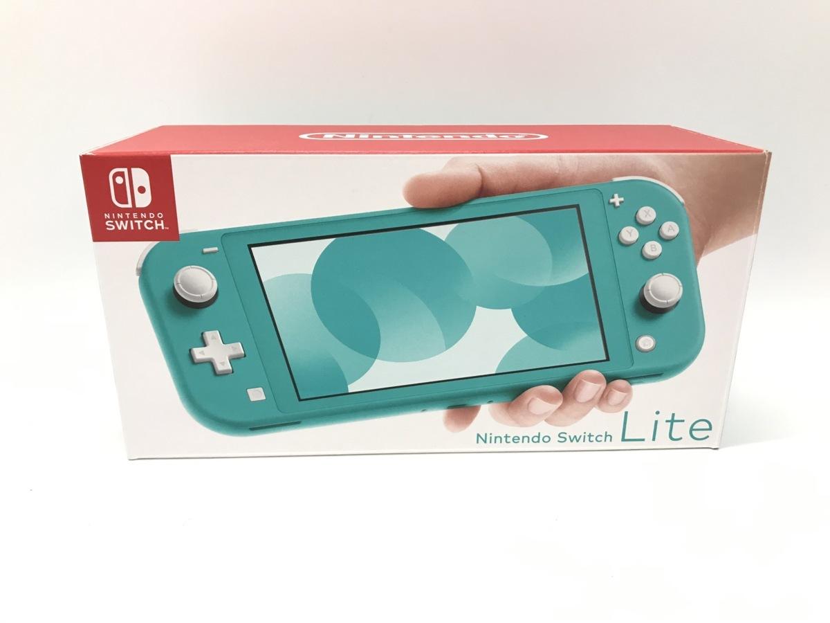 備考あり Nintendo Switch Lite/ニンテンドースイッチライト ターコイズ 任天堂 ゲーム機 ※備考あり※ ☆良品☆ [296-0910-S3]_画像1