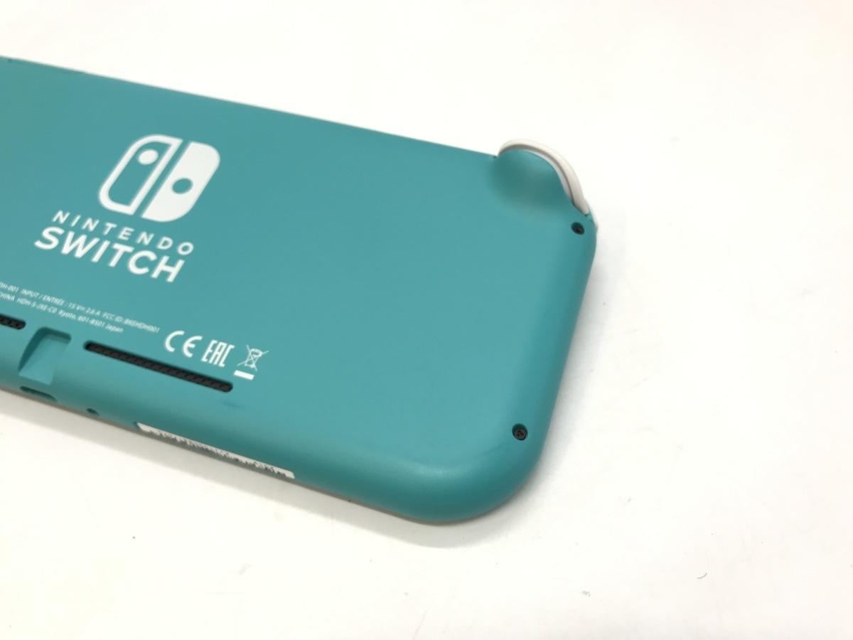 Nintendo Switch Lite/ニンテンドースイッチライト ターコイズ 任天堂 ゲーム機 ☆良品☆ [296-0910-S5]_画像5