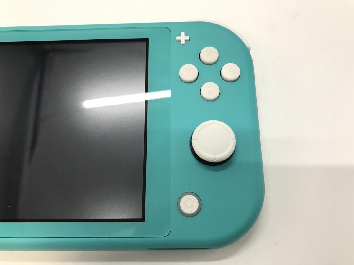 Nintendo Switch Lite/ニンテンドースイッチライト ターコイズ 任天堂 ゲーム機 ☆良品☆ [296-0910-S5]_画像8