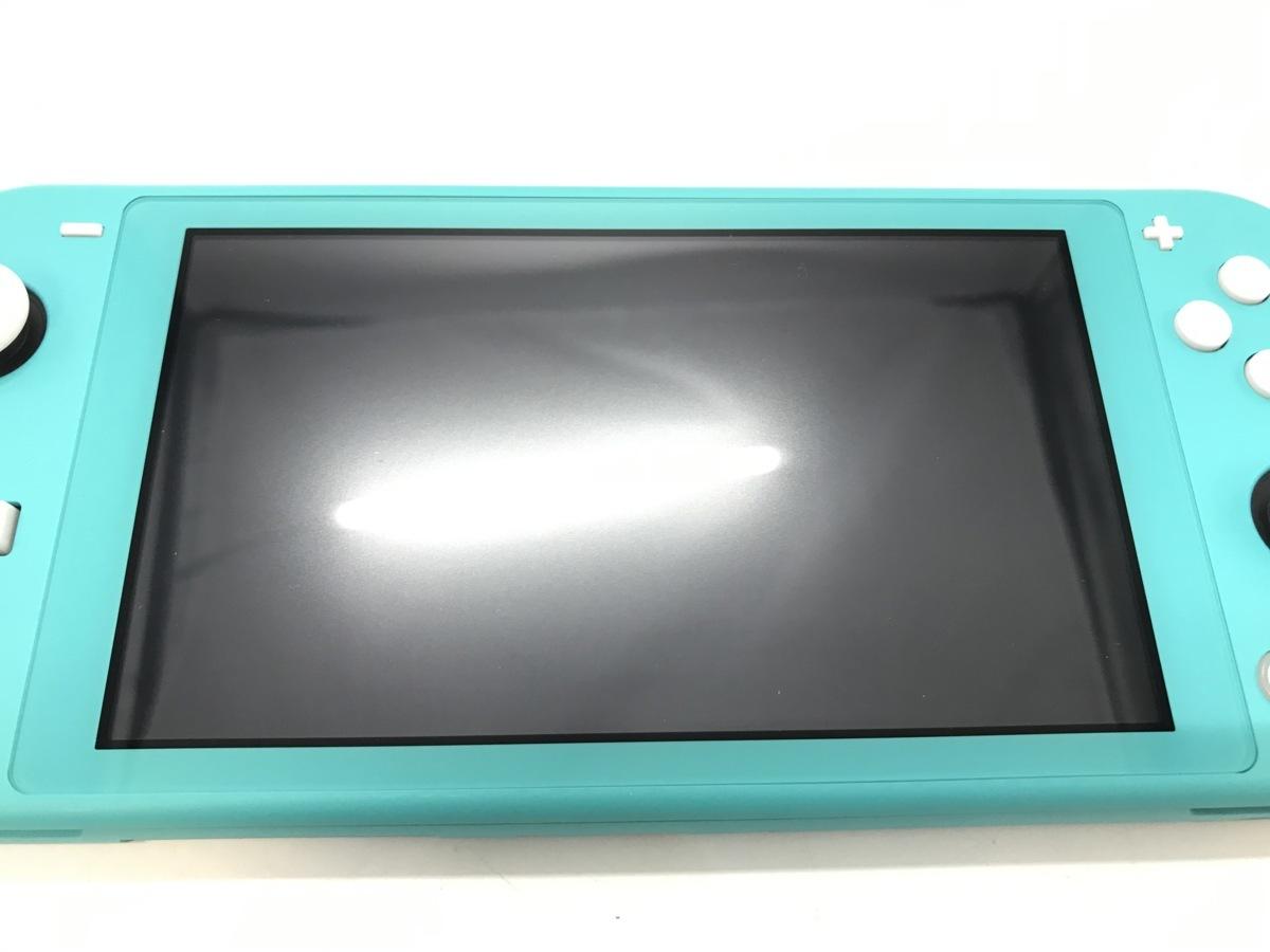 Nintendo Switch Lite/ニンテンドースイッチライト ターコイズ 任天堂 ゲーム機 ☆良品☆ [296-0910-S5]_画像4