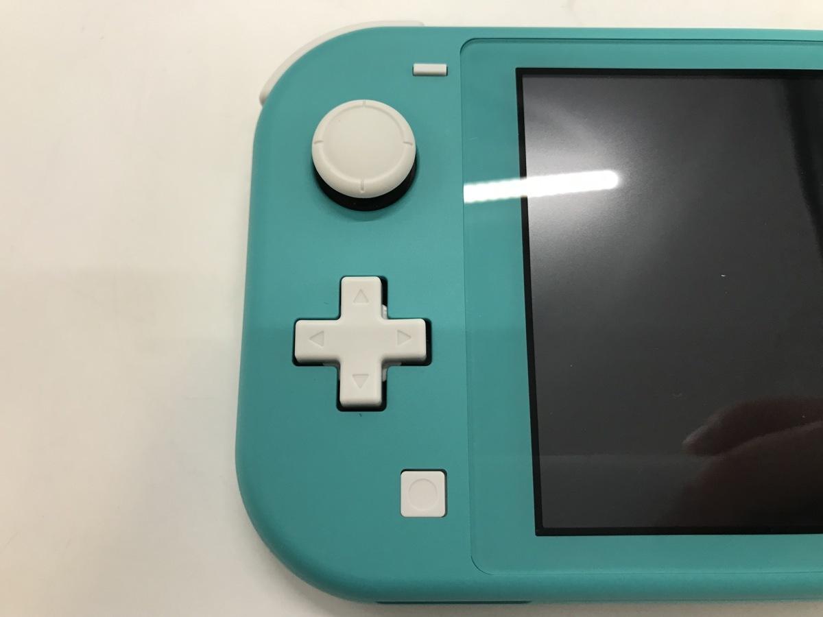 Nintendo Switch Lite/ニンテンドースイッチライト ターコイズ 任天堂 ゲーム機 ☆良品☆ [296-0910-S5]_画像7