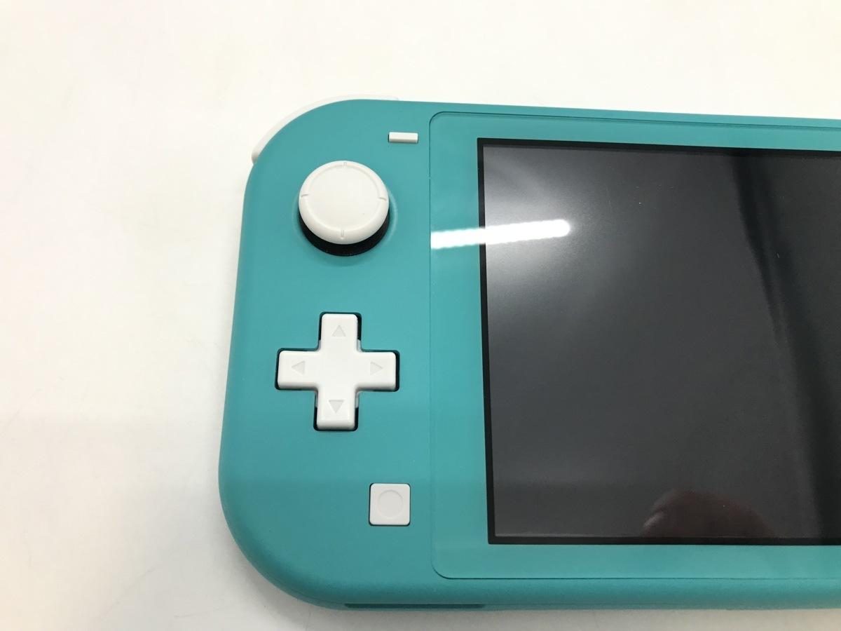 備考あり Nintendo Switch Lite/ニンテンドースイッチライト ターコイズ 任天堂 ゲーム機 ※備考あり※ ☆良品☆ [296-0910-S3]_画像8