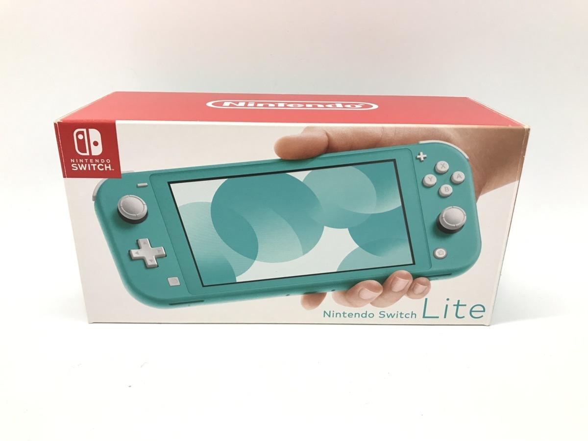Nintendo Switch Lite/ニンテンドースイッチライト ターコイズ 任天堂 ゲーム機 ☆良品☆ [296-0910-S5]_画像1