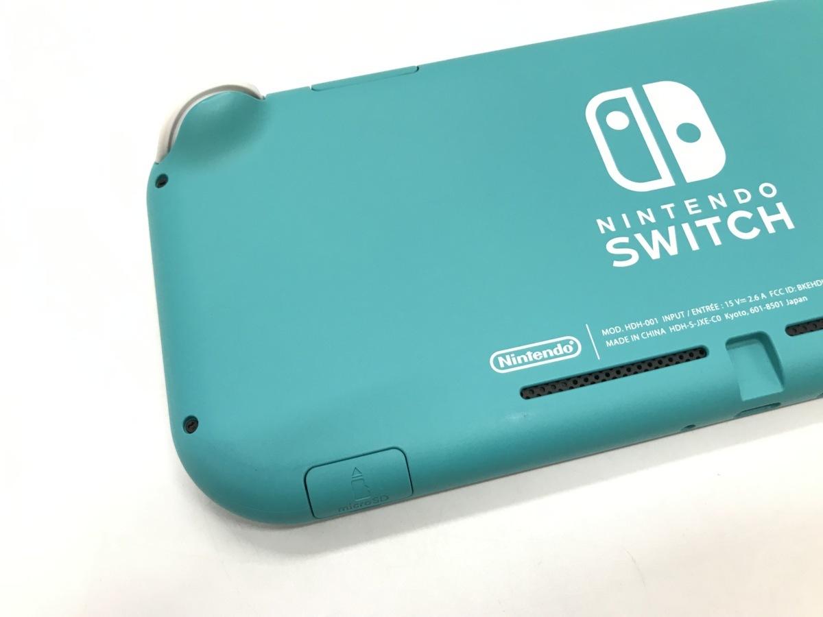 Nintendo Switch Lite/ニンテンドースイッチライト ターコイズ 任天堂 ゲーム機 ☆良品☆ [296-0910-S5]_画像6