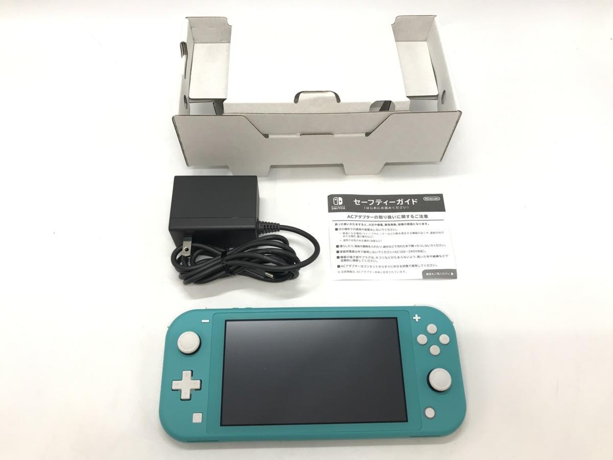 Nintendo Switch Lite/ニンテンドースイッチライト ターコイズ 任天堂 ゲーム機 ☆良品☆ [296-0910-S5]_画像3