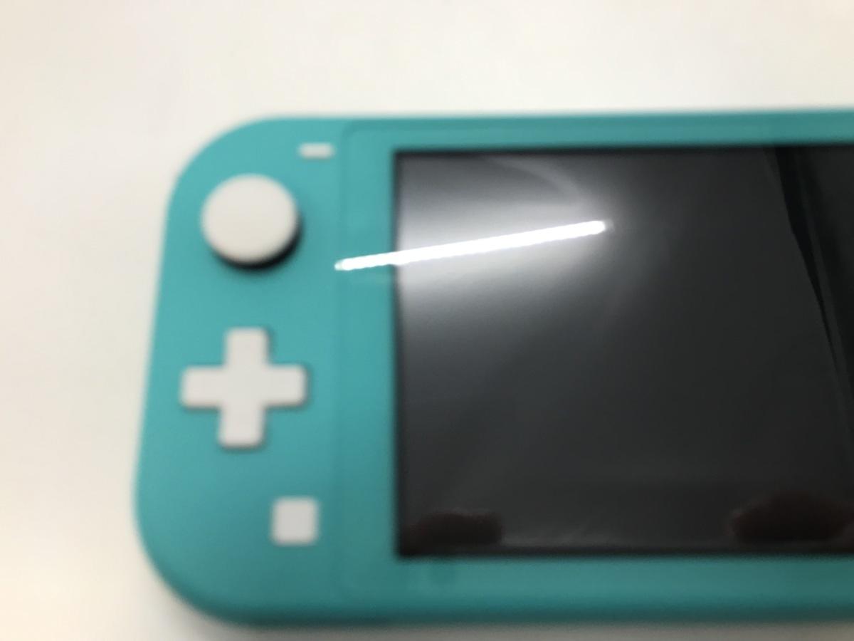 備考あり Nintendo Switch Lite/ニンテンドースイッチライト ターコイズ 任天堂 ゲーム機 ※備考あり※ ☆良品☆ [296-0910-S3]_画像7