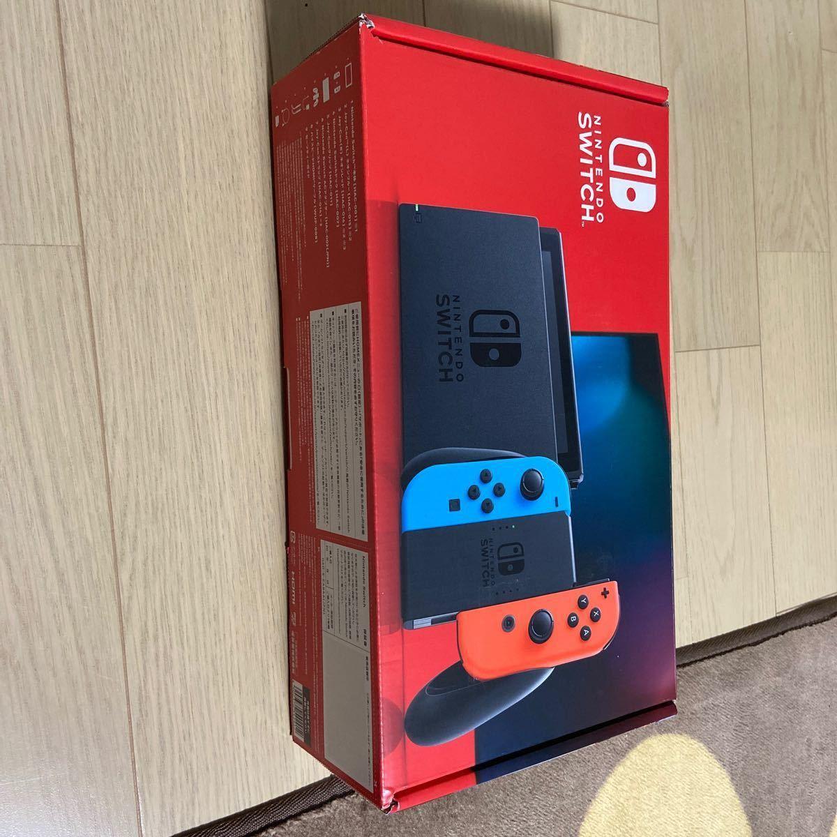 Nintendo Switch Joy-Con (L) ネオンブルー/ (R) ネオンレッド 2019年8月発売モデル