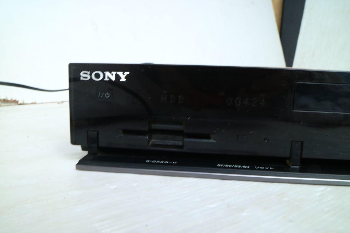 SONY ソニー】ブルーレイディスクレコーダー500GB BDZ-RX50 2009年製 500GB B-CASカード 2番組同時録画 通電のみ 'ZA208_画像2