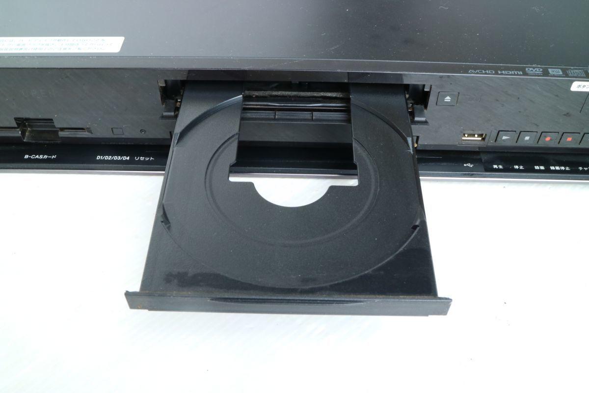 SONY ソニー】ブルーレイディスクレコーダー500GB BDZ-RX50 2009年製 500GB B-CASカード 2番組同時録画 通電のみ 'ZA208_画像5
