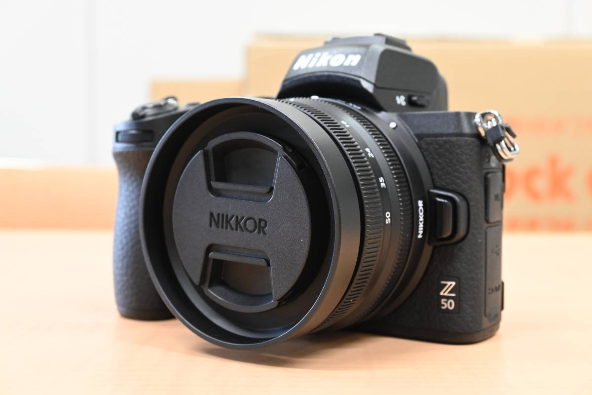 【水没品】Nikon Z50 16-50mm レンズキット