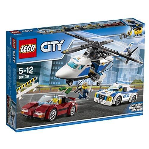 ★残り1点★レゴ (LEGO) シティ ポリスヘリコプターとポリスカー 60138 ブロック おもちゃ 男の子 車_画像1