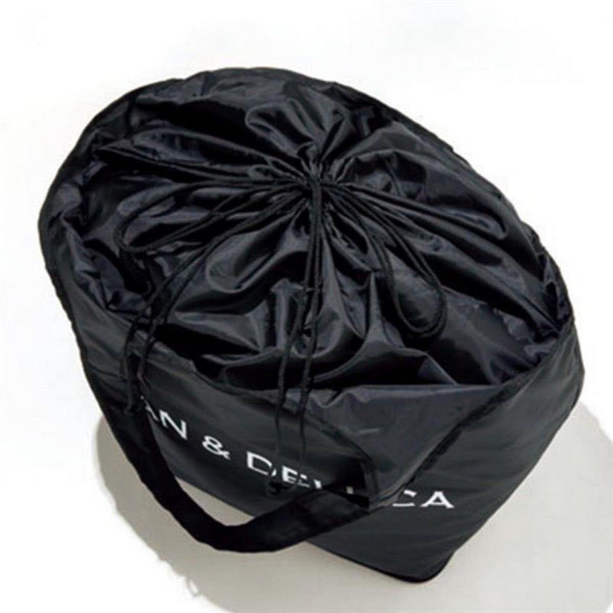 レジカゴバッグ エコバッグ 折りたたみバッグ黒