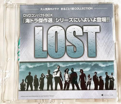 ★DVD LOST クリミナル・マインド 海外ドラマ第1話 6作品収録 販促用ディスク