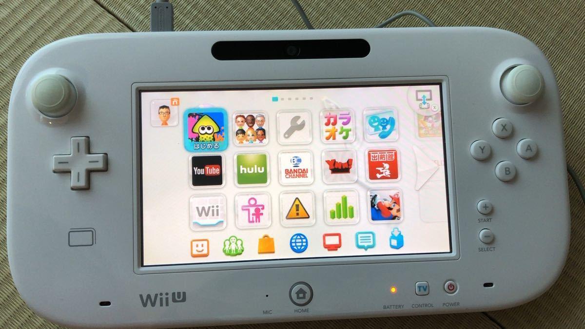 WiiU 本体  マリオカート8セット シロ