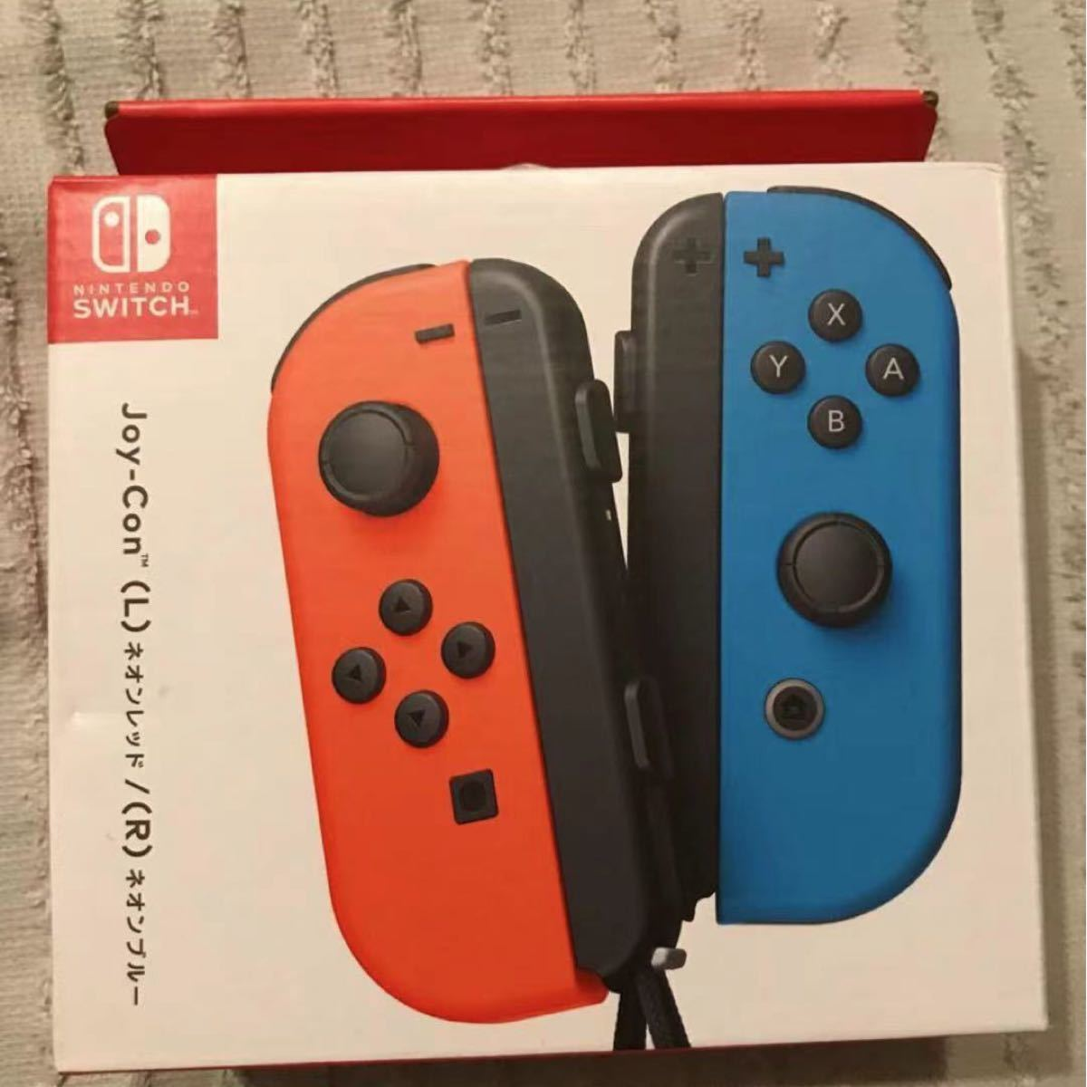 Switch  joy-con ネオンレッド /ネオンブルー 新品
