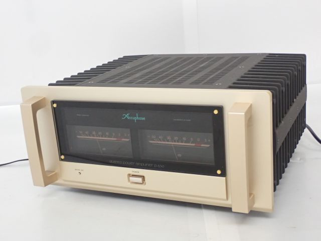 Accuphase P-650 ステレオパワーアンプ アキュフェーズ ハイエンドオーディオ 音響機器 △ 62883-6