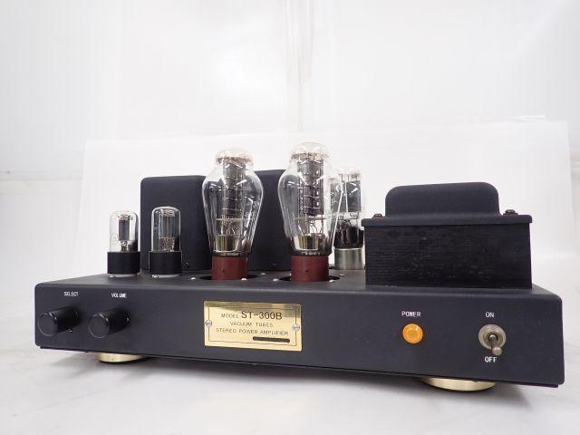 【部品取り】 自作真空管パワーアンプ ST-300B 真空管 300B-98/6H8C/5Z3PA使用 ∴ 62819-2