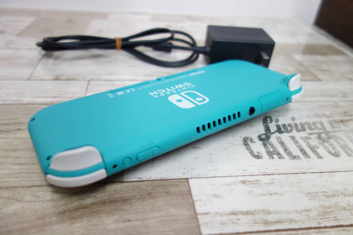 美品 任天堂 Nintendo Switch Lite ニンテンドースイッチ ライト HDH-001 ターコイズ_画像5