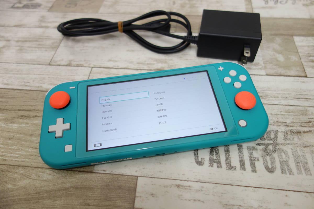 美品 任天堂 Nintendo Switch Lite ニンテンドースイッチ ライト HDH-001 ターコイズ_画像2