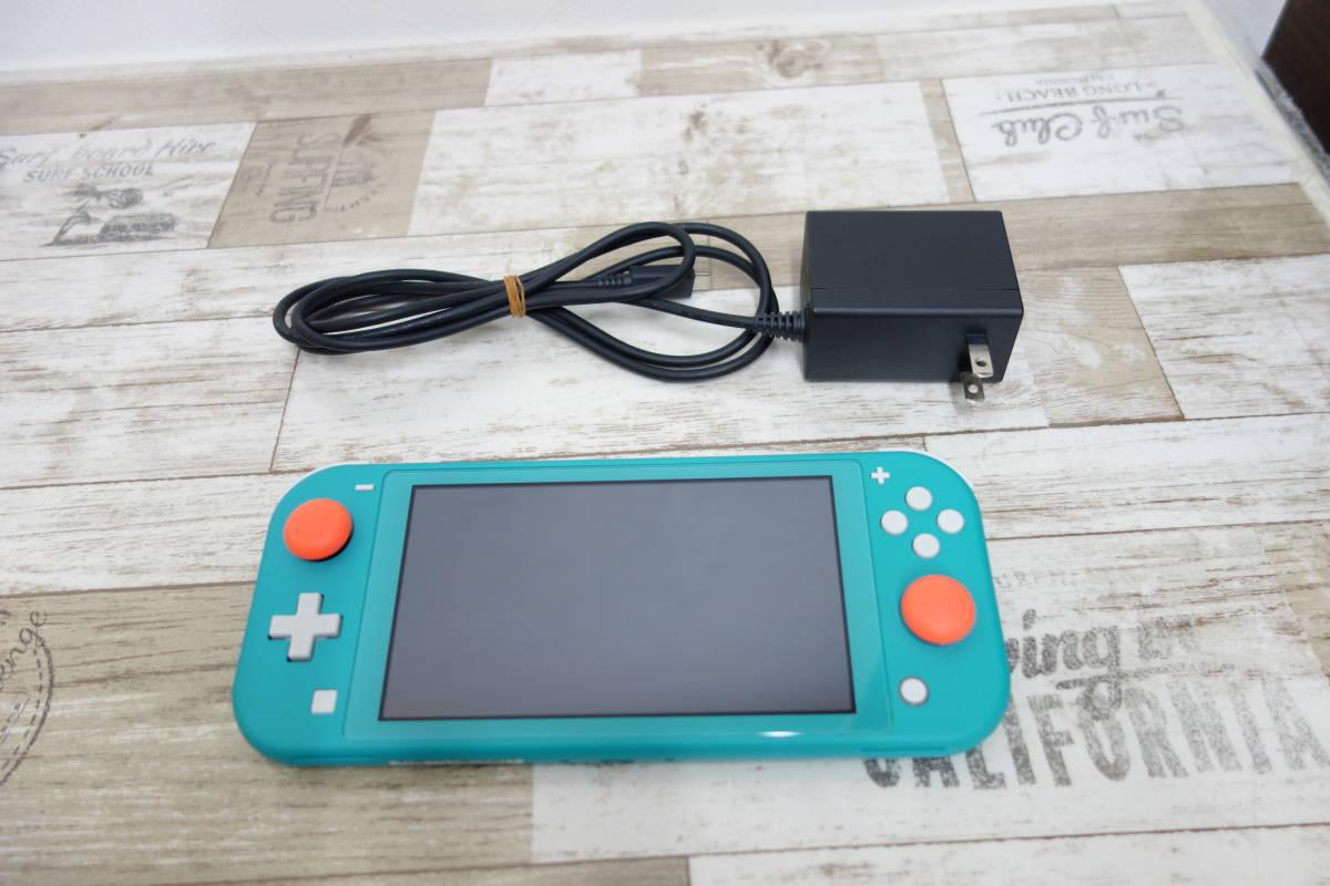 美品 任天堂 Nintendo Switch Lite ニンテンドースイッチ ライト HDH-001 ターコイズ_画像1