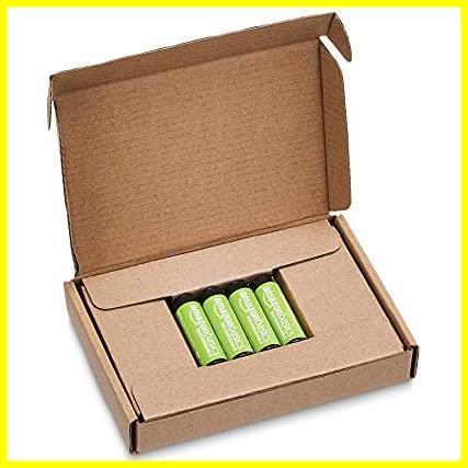 Amazonベーシック 充電池 充電式ニッケル水素電池 単3形4個セット (最小容量1900mAh、約1000回使用可能)_画像4