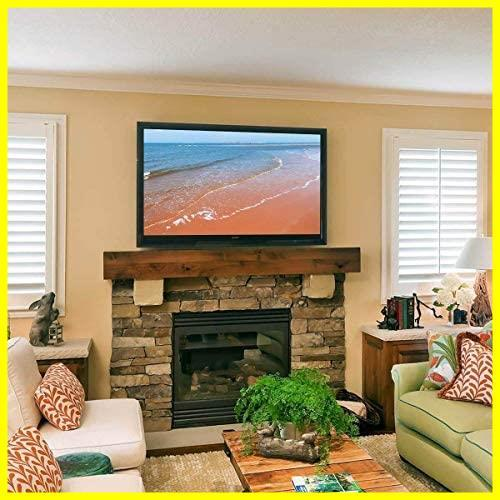 Suptek テレビ台 テレビ壁掛け金具 上下調節式 26-55インチ対応 LCDLED液晶テレビスタンド 15°角度調節可能 耐荷重45kg VESA規格400×400_画像8