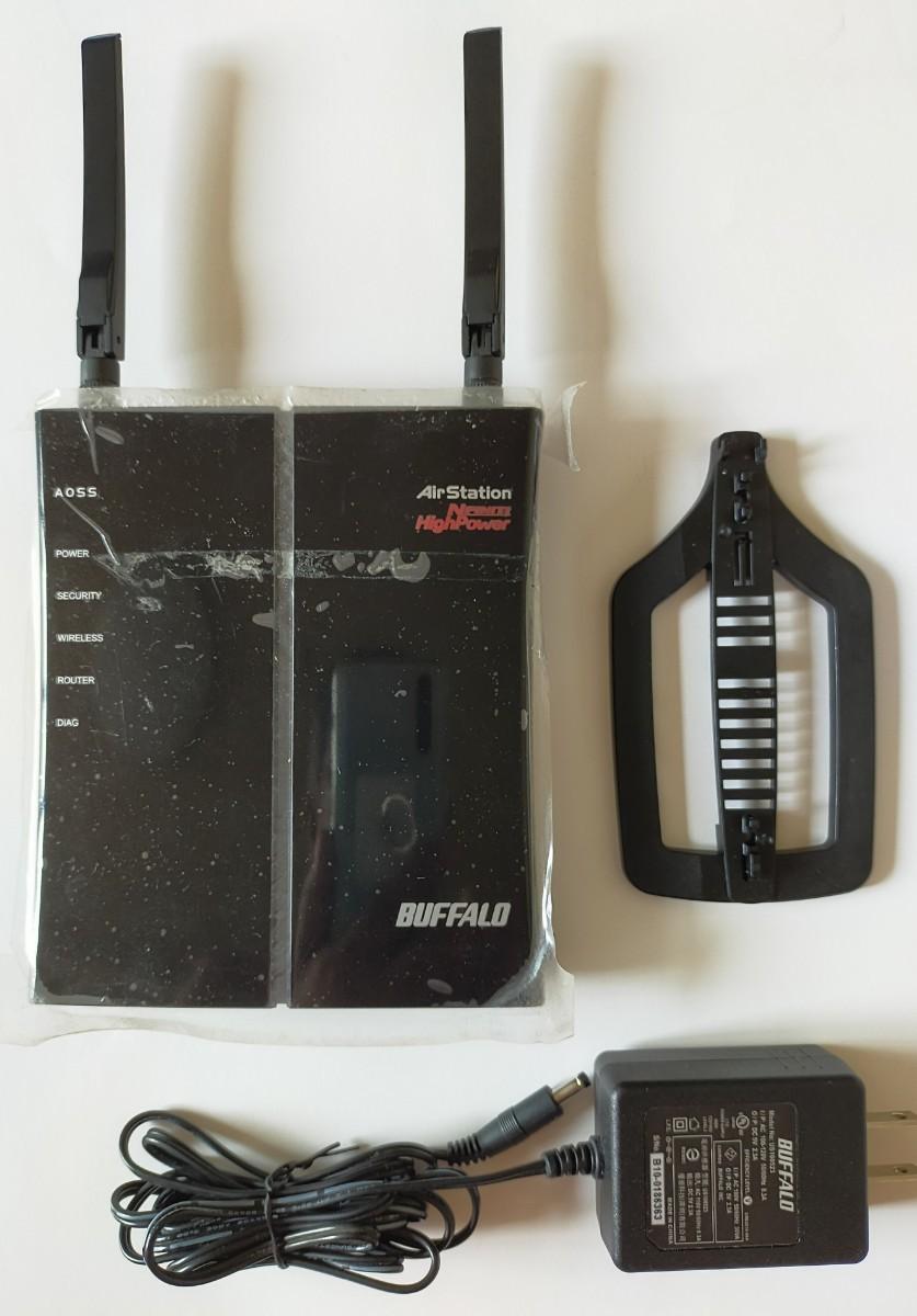 バッファロー WHR-HP-G300N 無線LANルーター