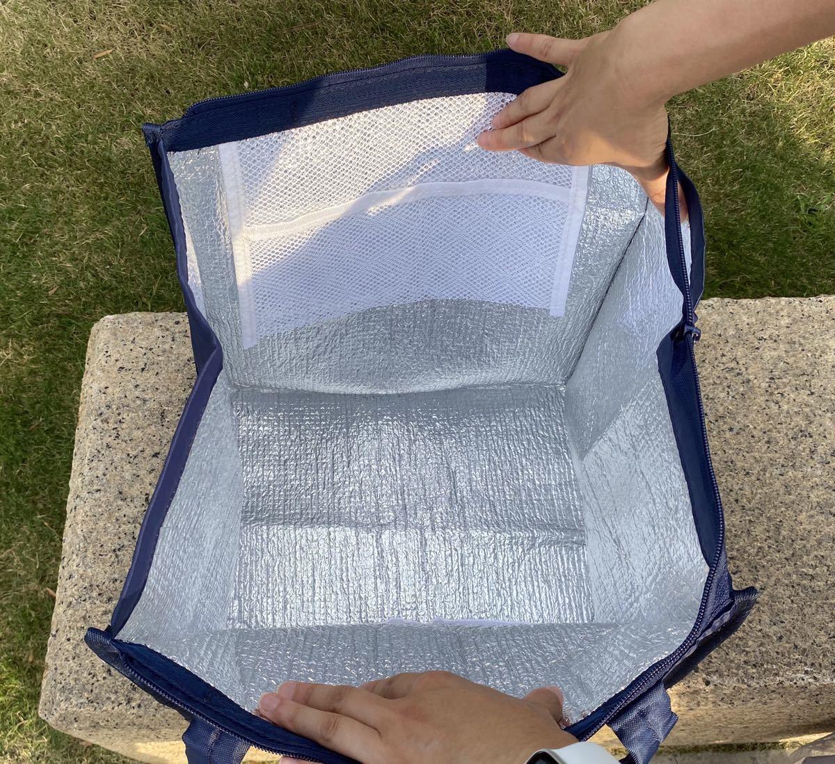 クーラーバッグ 大容量お弁当バッグ 保冷保温BIGエコバッグ