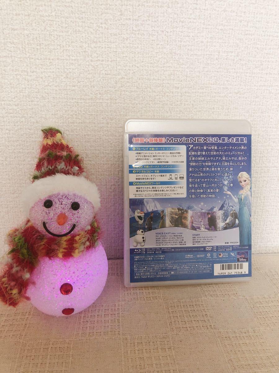 アナと雪の女王 MovieNEX Blu-ray DVD Disney