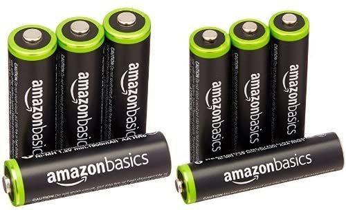 Amazonベーシック 充電池 充電式ニッケル水素電池 単3形4個セット (最小容量1900mAh、約1000回使用可能) &a_画像1