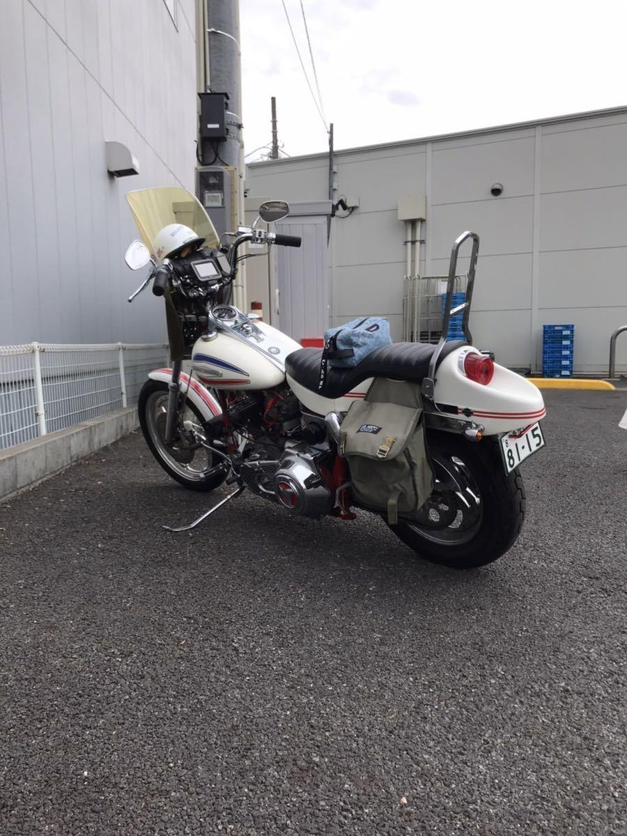 「ハーレーFX 1200ボートテール ショベルヘッド 1400cc 4本プラグ レア 当時 希少 日本に1台」の画像3