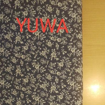 YUWA シーチング生地 花柄 生地巾約108cm×50cm
