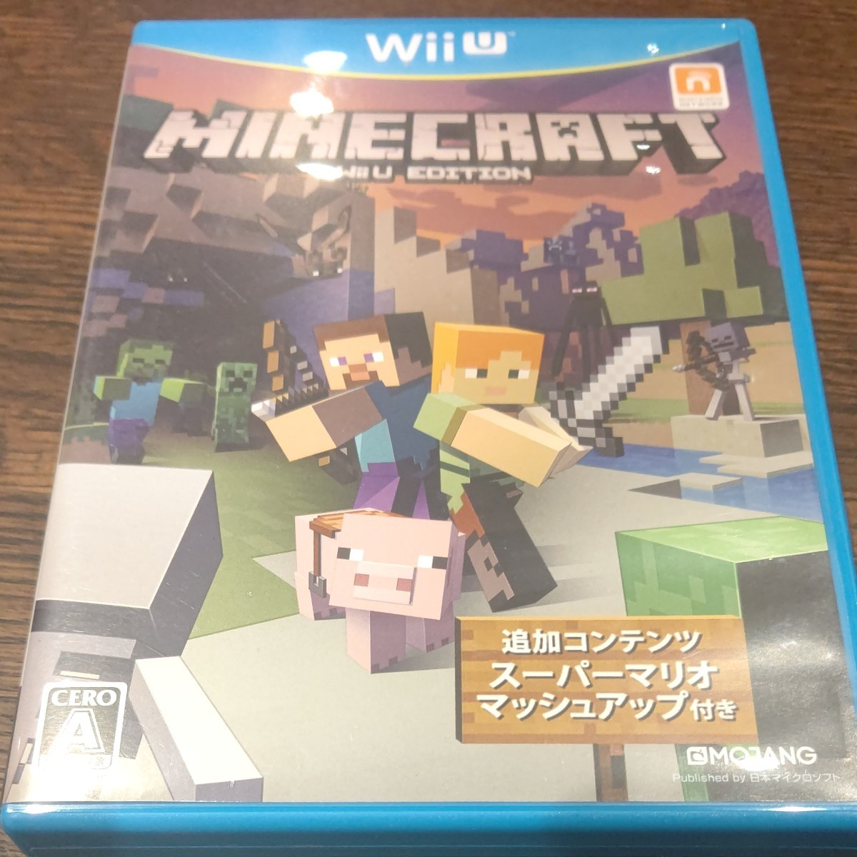 マインクラフト WiiU EDITION ソフト Minecraft マイクラ