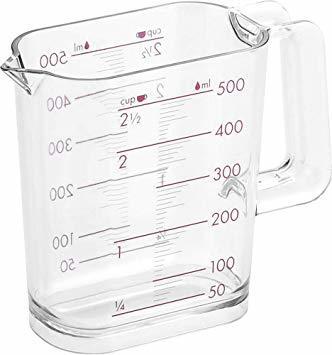 ★本日限り★シルバーローズ 500ml 和平フレイズ 調理器具 計量カップ ジー・クック 500ml シルバーローズ 食洗器対応_画像1
