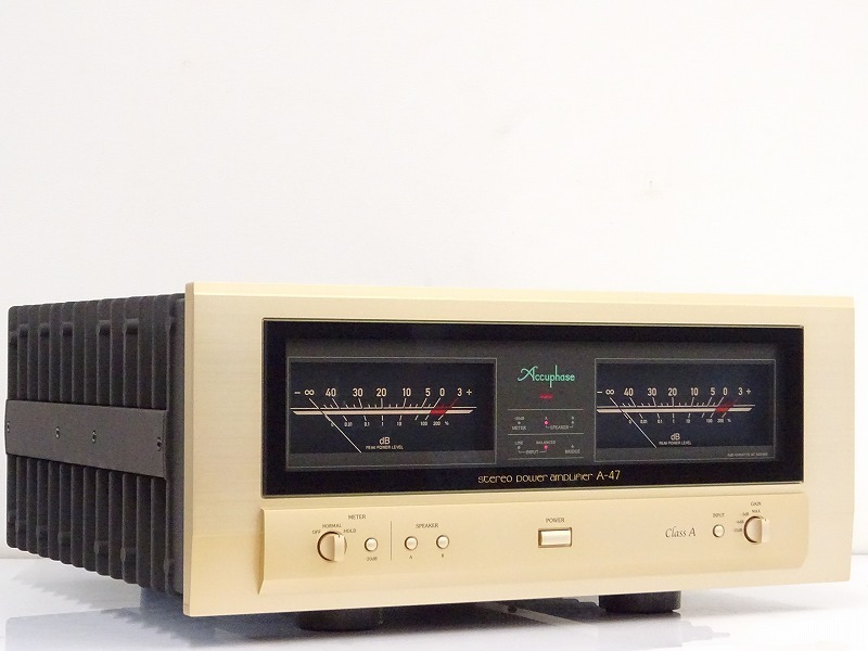 ■□Accuphase A-47 パワーアンプ アキュフェーズ□■008068001□■