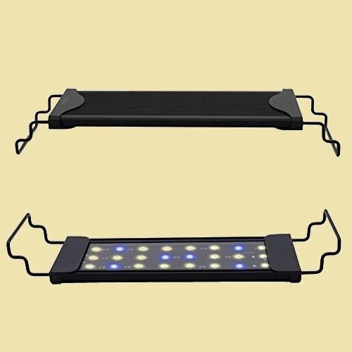 新品 未使用 水槽 Varmhus X-X3 水草育成 アクアリウムライト ライト 30cm ~ 45cm の水槽に対応 青白2色LED 熱帯魚 観賞魚飼育_画像1