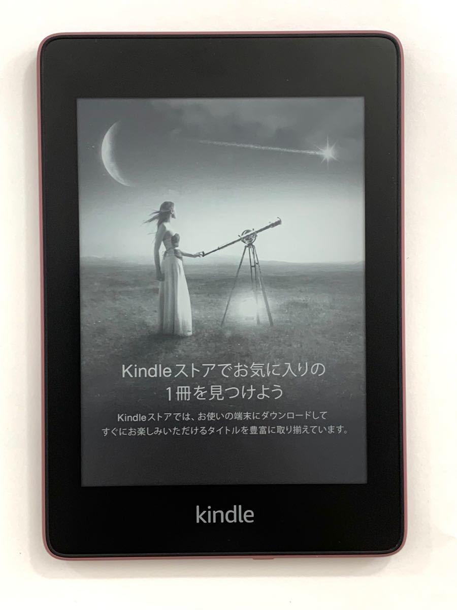 第10世代 Kindle Paperwhite 防水機能搭載 wifi 8GB プラム 広告つき 電子書籍リーダー