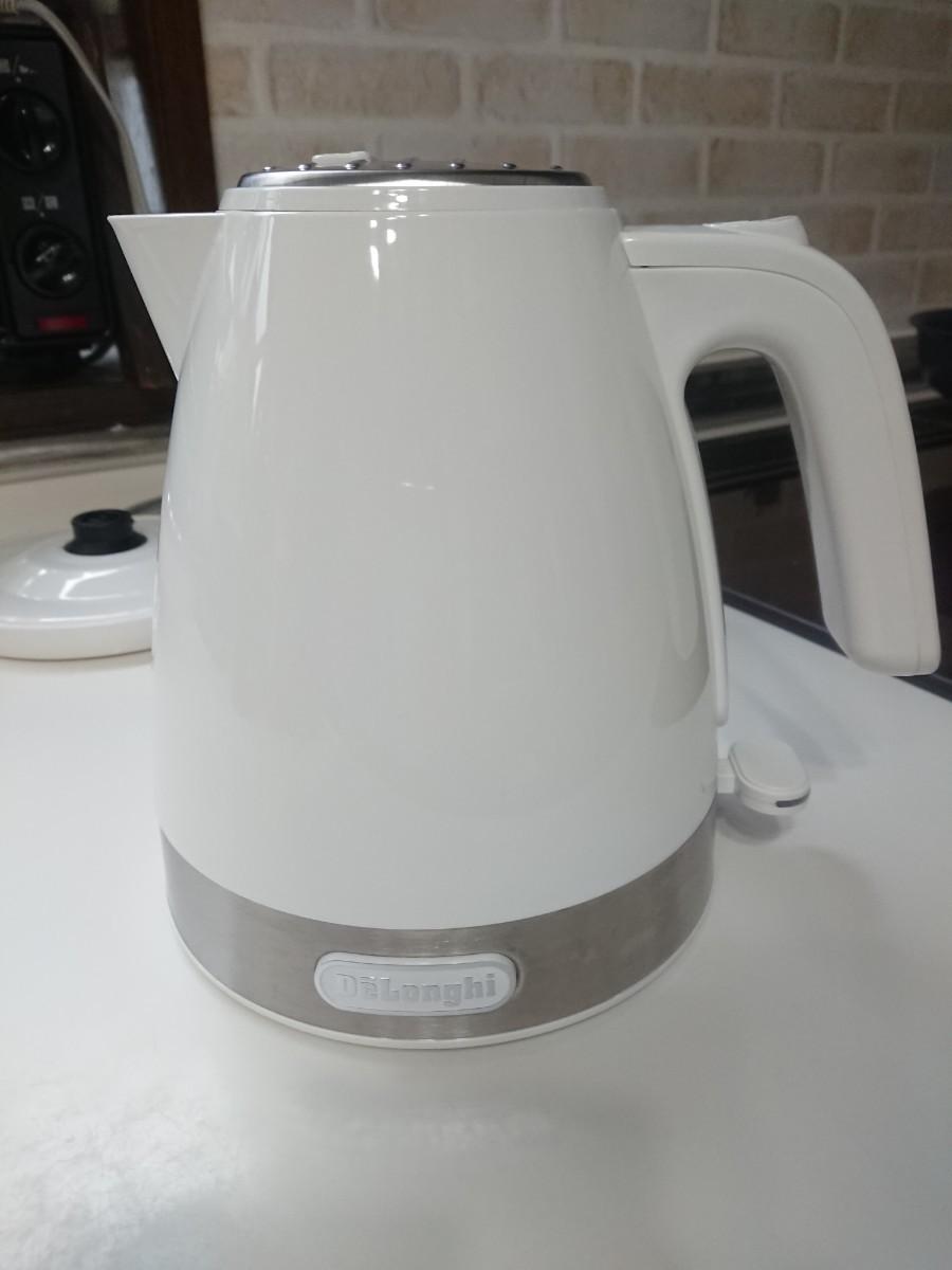 デロンギ 電気ケトル アクティブ シリーズ KBLA1200J-W