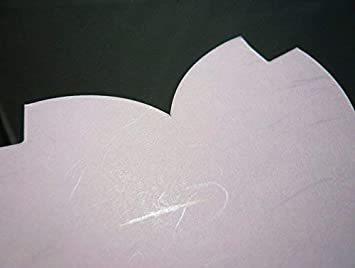 2色 100枚 【Amazon.co.jp 限定】和紙かわ澄 桜 和紙 さくらのかたち スーパーバリューパック 100枚 Aセッ_画像5